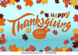 happy thanksgiving day card stock vector 86973188