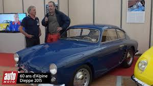 alpine a106 60 ans d u0027alpine présentation de l u0027alpine a106 reportage vidéo