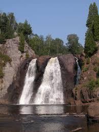 Minnesota waterfalls images High falls of the baptism river jpg