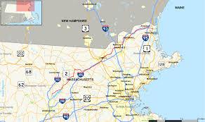 County Map Massachusetts by Massachusetts Route 110 Wikipedia