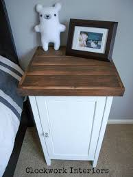 Painting Ikea Hemnes Furniture by Ikea Hack Customize A Hemnes Nightstand With Reclaimed Wood