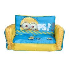 fauteuil canapé enfant les minions canapé enfant gonflable et dépliable achat vente