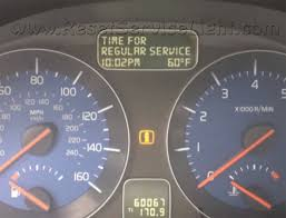lexus oil maintenance light reset time for regular service volvo v50 u2013 reset service light