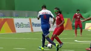 Paralympics Blind Football Rio Paralympics 2016 Blind Footballer Scores Sensational Goal For
