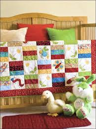 applique baby quilt kits baby applique quilts free patterns
