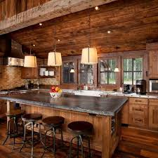 cabin kitchen ideas log cabin kitchen islands busca dores
