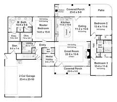 1800 Square Feet Country Style House Plan 3 Beds 2 Baths 1900 Sq Ft 430 56 Ripping