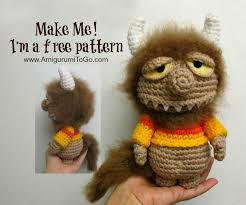 amigurumi patterns video video the unnamed monster pattern amigurumi to go homemade