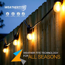 Commercial Patio String Lights by Brightech Store Brightech U2013 U201cmoonlight Edition U201d Ambience Pro Led