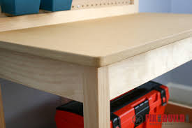 Boys Wooden Tool Bench How To Make A Diy Kids Workbench Fixthisbuildthat
