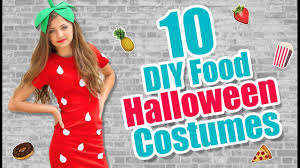 ideas for homemade halloween costume 10 food inspired diy halloween costume ideas kamri noel youtube