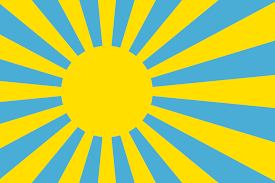 Japanese Flag Rising Sun Palau Rising Sun Flag Vexillology