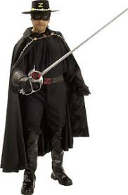 Bandit Halloween Costume Zorro Masked Bandit Spanish Hero Fancy Dress Deluxe