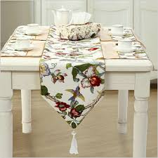 country style 100 cotton bamboo joint table runner cloth wedding