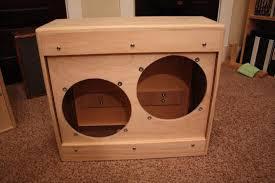 12 guitar speaker cabinet 2 x 12 guitar speaker cabinet plans building1st com
