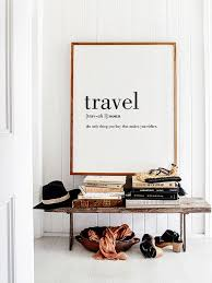Quotes Wall Decor Best 25 Travel Wall Decor Ideas On Pinterest Travel Wall