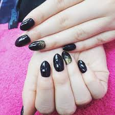 nail art black acrylic nails awesome fingernail art designs