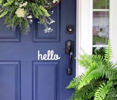 Navy Blue Front Door Upgrade Your Curb Appeal In One Afternoon Front Door Was A