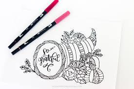 free printable thanksgiving coloring page printable crush