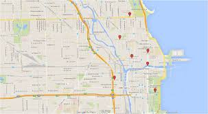 Bucktown Chicago Map by Chicago Seen On Tv An Interactive Map Of Windy City Shows U2013 Tv