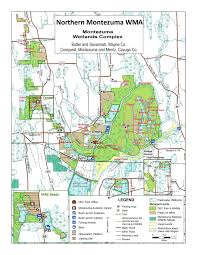 Cayuga County Map Map Of Northern Montezuma Friends Of The Montezuma Wetlands Complex