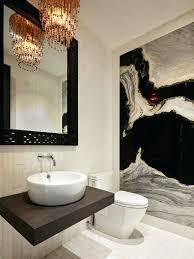 chandeliers powder room lighting tips chandelier adds dazzle to