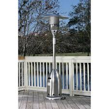 fire sense stainless steel patio heater fire sense deluxe patio heater icamblog