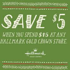 hallmark gold crown stores 5 any 15 purchase coupon what