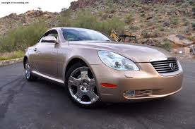 lexus convertible 2006 lexus sc430 review rnr automotive blog