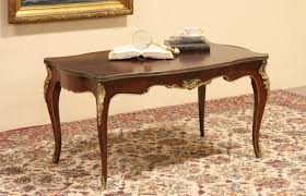 sold rosewood 1920 danish coffee or cocktail table bronze