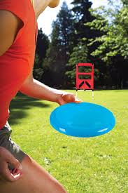amazon com outdoor backyard disc toss target lawn game kids