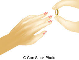 Wedding Ring Clipart by Vector Clip Art Of Wedding Ring With Diamond Love With Gold Ring