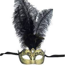 black venetian mask venetian mask in london for black and gold princess feathered