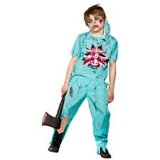 Halloween Costumes Boy Kids Zombie Undead Skeleton Dead Halloween Boys Kids Fancy