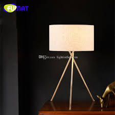 2018 nordic creative gold tripod table lamp study bedroom bedside