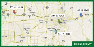 Bryan Ohio Map by Digital Outdoor U2014 Barnes Advertising