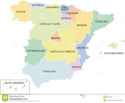 San Sebastian Spain Map by Map Of Spain Regions Imsa Kolese