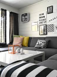 Black White Interior Black And White Color Scheme Home Design Ideas