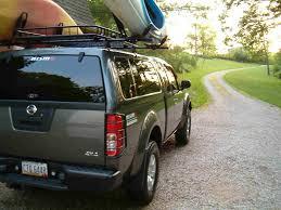 nissan titan kayak rack post your truck cap pics here page 11 nissan frontier forum