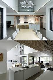 Modern House Dining Room - a modern family house was added to this residential toronto street