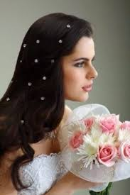 rhinestone single wedding bridal twisters