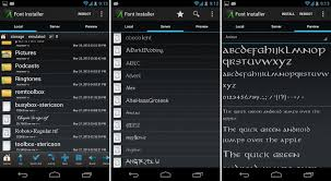 how to change fonts for android here is how to do it