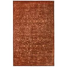 Rust Area Rug Safavieh Silk Road Rust Area Rug Reviews Wayfair