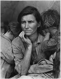 the story of the great depression in photos