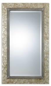 bathroom cabinets shell mirrors framed coastal bathroom mirrors