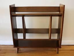 Walnut Bookshelves Mid Century Modern Bookcase 138 Stunning Decor With Vintage S