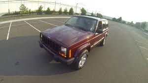 jeep maroon review for 2000 jeep cherokee sport 4x4 115k maroon walkaround