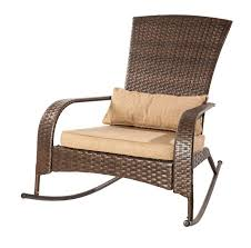 Walmart Canada Patio Furniture by Patio Flare Collection One Wicker Muskoka Rocking Chair Brown
