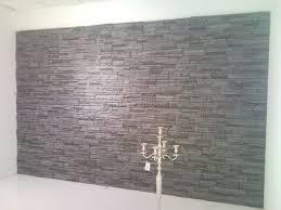 Wohnzimmer Ziegeloptik Wandgestaltung Stein Ruhbaz Com