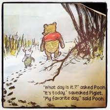 winnie the pooh my favorite day